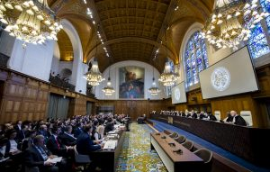 The International Court of Justice (ICJ), principal judicial organ of the UN, holds hearings in the case concerning the Application of the International Convention for the Suppression of the Financing of Terrorism and of the International Convention on the Elimination of All Forms of Racial Discrimination (Ukraine v. Russian Federation) from 6 to 9 March 2017, at the Peace Palace in The Hague, the seat of the Court. The hearings concern solely the Request for the indication of provisional measures submitted by Ukraine. Session held under the presidency of Judge Ronny Abraham. The CourtÕs role is to settle, in accordance with international law, legal disputes submitted to it by States (its Judgments are final and binding) and to give advisory opinions on legal questions referred to it by authorized UN organs and agencies. Its official languages are English and French. ICJ news and archives can be accessed via www.icj-cij.org  La Cour internationale de Justice (CIJ), organe judiciaire principal des Nations Unies, tient des audiences publiques en lÕaffaire de lÕApplication de la convention internationale pour la rŽpression du financement du terrorisme et de la convention internationale sur lՎlimination de toutes les formes de discrimination raciale (Ukraine c. FŽdŽration de Russie) du 6 au 9 mars 2017, au Palais de la Paix, ˆ La Haye, o la Cour a son sige. Les audiences portent exclusivement sur la demande en indication de mesures conservatoires dŽposŽe par lÕUkraine. SŽance publique tenue sous la prŽsidence de M. Ronny Abraham. La Cour est le seul des six organes principaux de lÕONU ˆ ne pas avoir son sige ˆ New York. Sa mission est de rŽgler, conformŽment au droit international, les diffŽrends dÕordre juridique soumis par les Etats (ses arrts sont sans appel et obligatoires pour les Parties) et de donner des avis consultatifs sur les questions juridiques que lui posent les organes et les institutions de lÕONU autorisŽs ˆ le faire. Pour en savoir plus: www.icj-cij.org